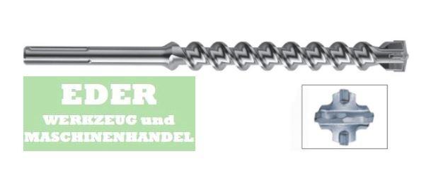 sds max bohrer 4 cutter 24x520mm eder werkzeug und maschinenhandel. Black Bedroom Furniture Sets. Home Design Ideas